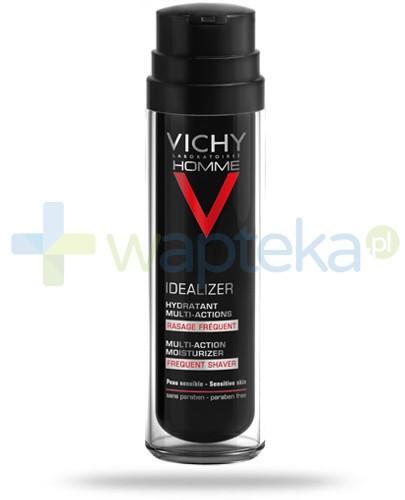 Vichy Homme Idealizer krem-żel nawilżający dla mężczyzn częste golenie 50 ml