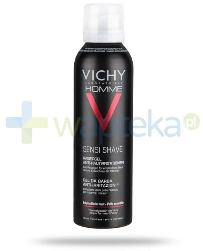 Vichy Homme pianka do golenia skóra wrażliwa 200 ml