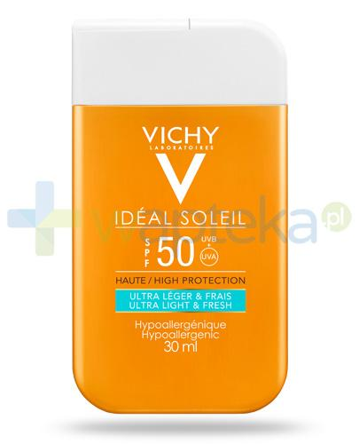 Vichy Ideal Soleil Pocket SPF50 krem ochronny do twarzy i ciała 30 ml