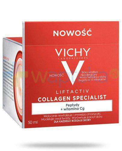Vichy Liftactiv Collagen Specialist krem przeciwzmarszczkowy 50 ml