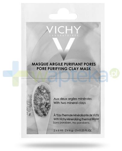 Vichy maska oczyszczająca pory z glinką 12 ml