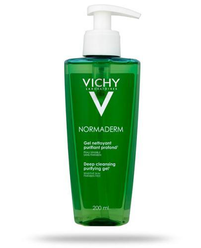 Vichy Normaderm żel głęboko oczyszczający do skóry wrażliwej 200 ml