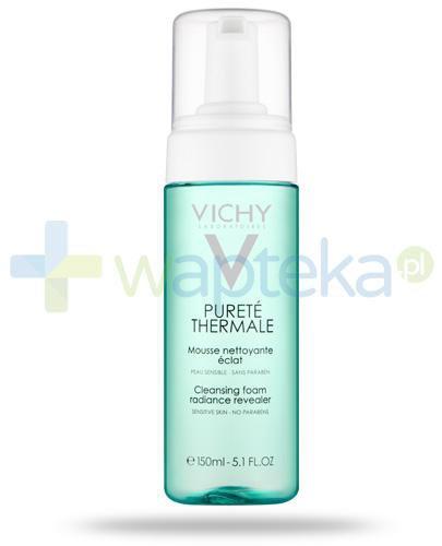Vichy Purete Thermale oczyszczająca pianka przywracająca blask do skóry wrażliwej 150 ml