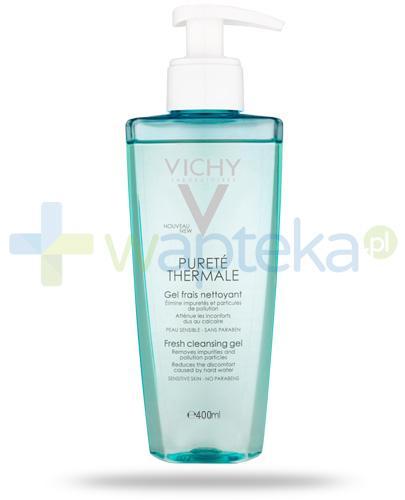 Vichy Purete Thermale odświeżający żel do mycia twarzy bez mydła 400 ml