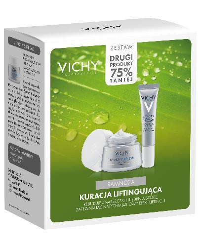 Vichy Kuracja liftingująca krem do twarzy 50 ml + krem pod oczy 15 ml [ZESTAW]
