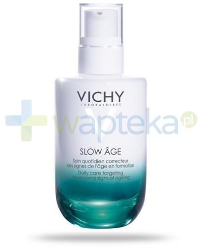 Vichy Slow Age kremowy fluid opóźniający efekty starzenia 50 ml + Neovadiol noc 15ml [GRATIS]