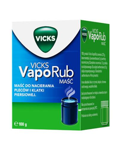 Vicks VapoRub maść do aromaterapii 100 g