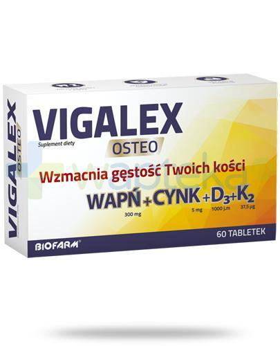 Vigalex Osteo 60 tabletek