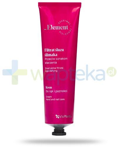 Vis Plantis _Element filtrat śluzu ślimaka przeciw oznakom starzenia, krem do rąk i paznokci 100 ml Elfa Pharm