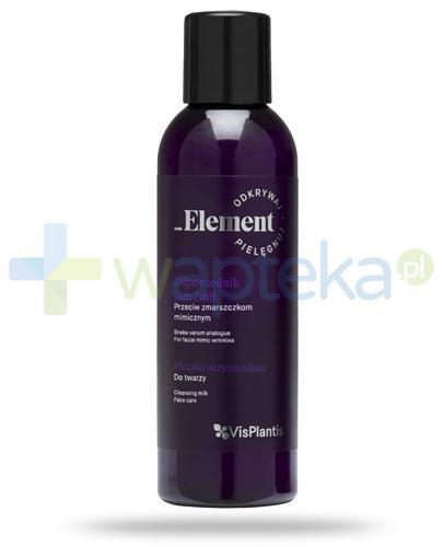 Vis Plantis _Element odpowiednik jadu żmii przeciw zmarszczkom mimicznym, mleczko oczyszczające do twarzy 150 ml Elfa Pharm