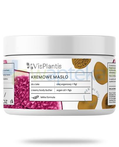 Vis Plantis Herbal Vital Care kremowe masło do ciała olej arganowy + figi 250 ml Elfa Pharm
