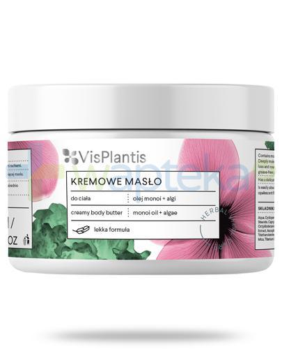 Vis Plantis Herbal Vital Care kremowe masło do ciała olejek monoi + algi 250 ml Elfa Pharm [Data ważności 06-04-2019]