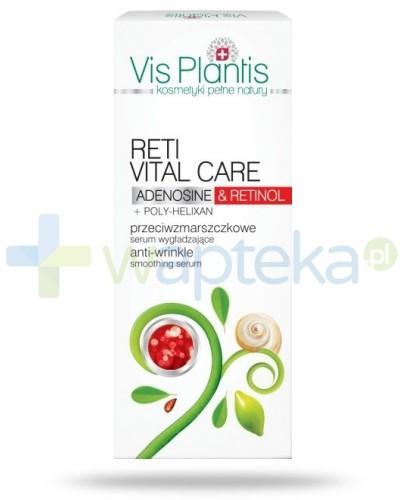 Vis Plantis Reti Vital Care Przeciwzmarszczkowe serum wygładzające z retinolem i adenozyną 30 ml Elfa Pharm