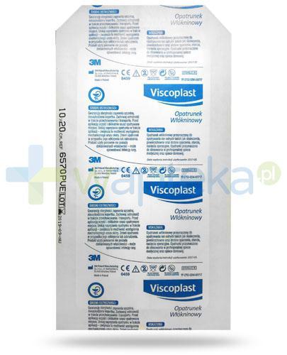 Viscoplast Medyczne opatrunek włókninowy z warstwą chłonną 10cm x 20 cm, 1 sztuka