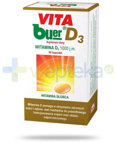 Vita Buer D3 1000 j.m. 60 kapsułek