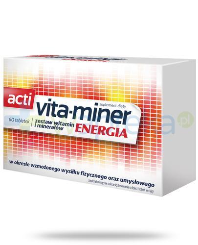 Acti Vita-miner Energia 60 tabletek
