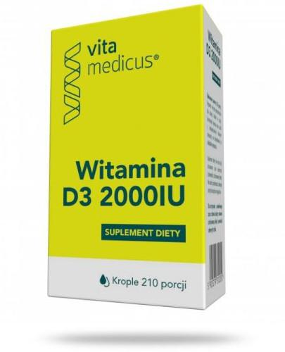 VitaMedicus witamina D3 2000IU krople 29,4 ml