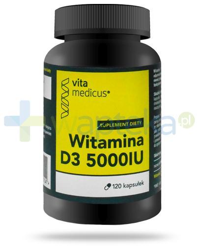 VitaMedicus witamina D3 5000UI 120 kapsułek