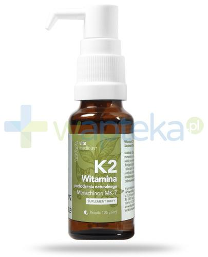VitaMedicus witamina K2 Mk-7, krople 14,7 ml