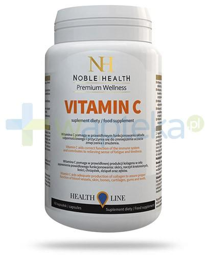 Vitamin C naturalna witamina C 1000mg 60 kapsułek Noble Health