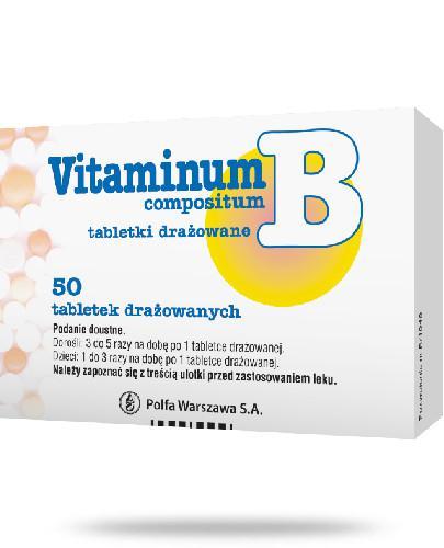 Vitaminum B compositum 50 tabletek drażowanych