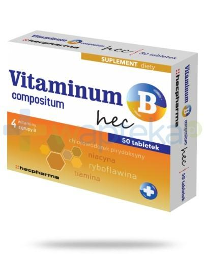 Vitaminum B Compositum Hec 50 tabletek