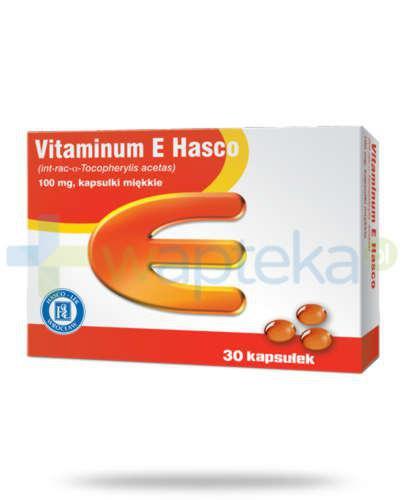 Vitaminum E 100mg 30 kapsułek Hasco