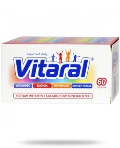 Vitaral zestaw witamin i minerałów 30 tabletek