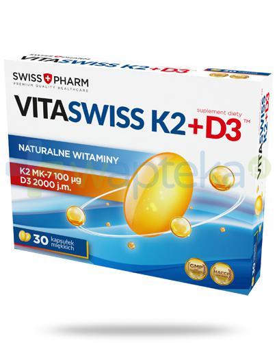 VitaSwiss K2 + D3 30 kapsułek