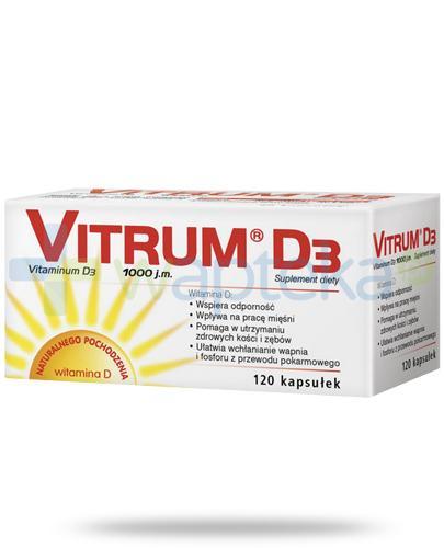 Vitrum D3 120 kapsułek