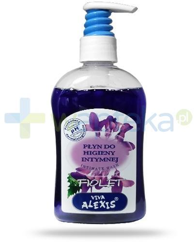 Viva Alexis Fiolet płyn do higieny intymnej fioletowy z dozownikiem 300 ml