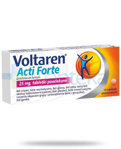 Voltaren Acti Forte tabletki przeciwbólowe i przeciwzapalne - 10 sztuk