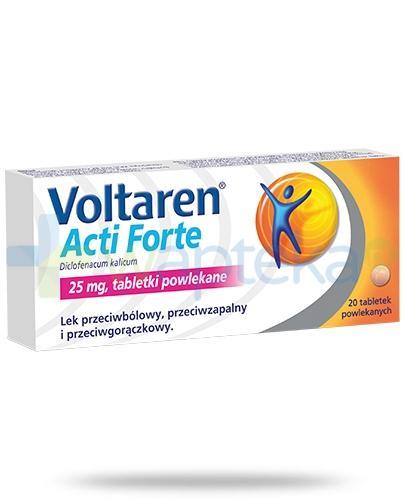 Voltaren Acti Forte tabletki przeciwbólowe i przeciwzapalne - 20 sztuk