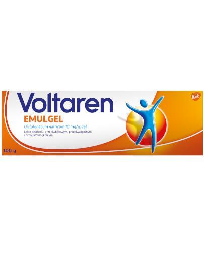 Voltaren Emulgel 1% żel przeciwbólowy i przeciwzapalny - 100 g