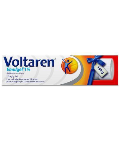 Voltaren Emulgel 1% żel przeciwbólowy i przeciwzapalny - 150 g