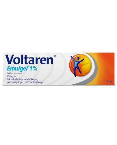 Voltaren Emulgel 1% żel przeciwbólowy i przeciwzapalny - 50 g