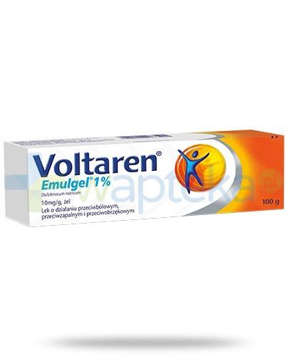 Voltaren Emulgel żel 100 g na ból mięśni i pleców