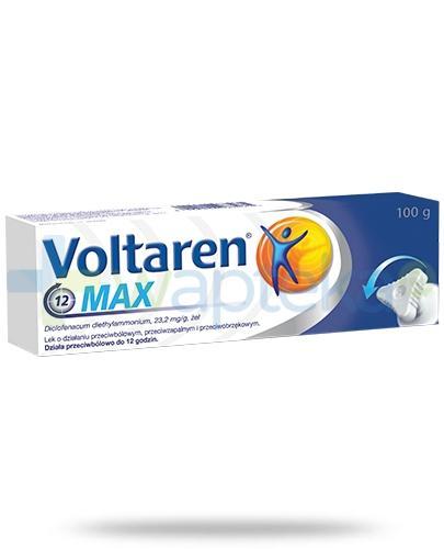 Voltaren Max żel 100g na ból stawów i mięśni