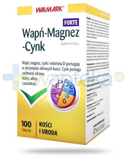 Walmark Wapń-Magnez-Cynk Forte 100 tabletek