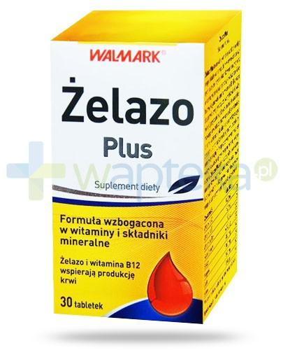 Walmark Żelazo Plus 30 tabletek
