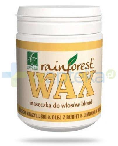 Wax Rainforest maseczka do włosów blond i siwych 250 ml