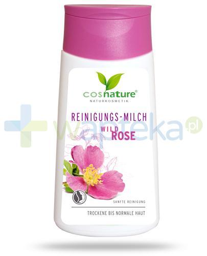 Wild Rose naturalne mleczko oczyszczające do twarzy z dziką różą 150 ml CosNature
