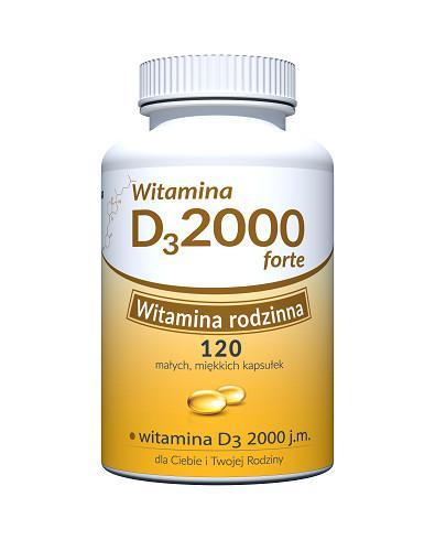Witamina D 2000 Forte Uniphar 60 kapsułek
