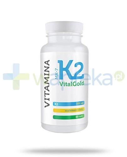 Alg Pharma Witamina K2 MK-7 VitalGold 60 tabletek