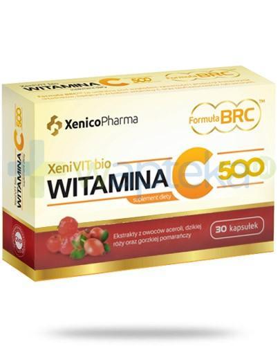 XeniVIT bio witamina C 500 30 kapsułek
