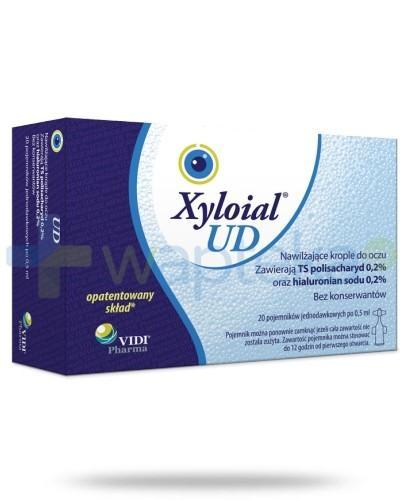 Xyloial UD  krople do oczu 20 ampułek po 0,5ml