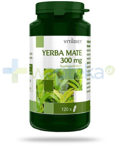 Yerba Mate 300mg ekstrakt z liści ostrokrzewu paragwajskiego 120 kapsułek