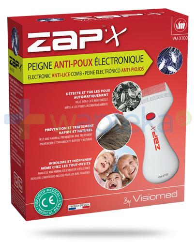 ZapX VM-X100 grzebień elektroniczny przeciwko wszom i gnidom 1 sztuka