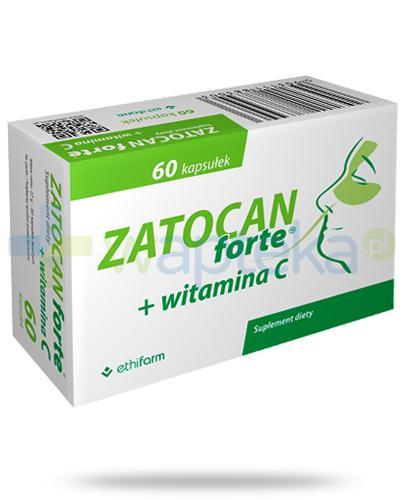 Zatocan Forte + wtiamina C 60 kapsułek