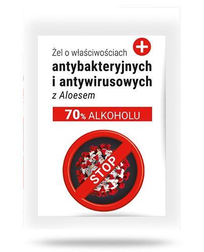 Żel antybakteryjny i antywirusowy z aloesem 3 ml